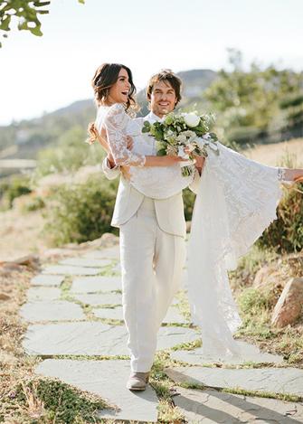 Nikki-Reed-Claire-Pettibone-Wedding-Dress