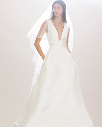 Carolina Herrera Fall 2016 Bridal