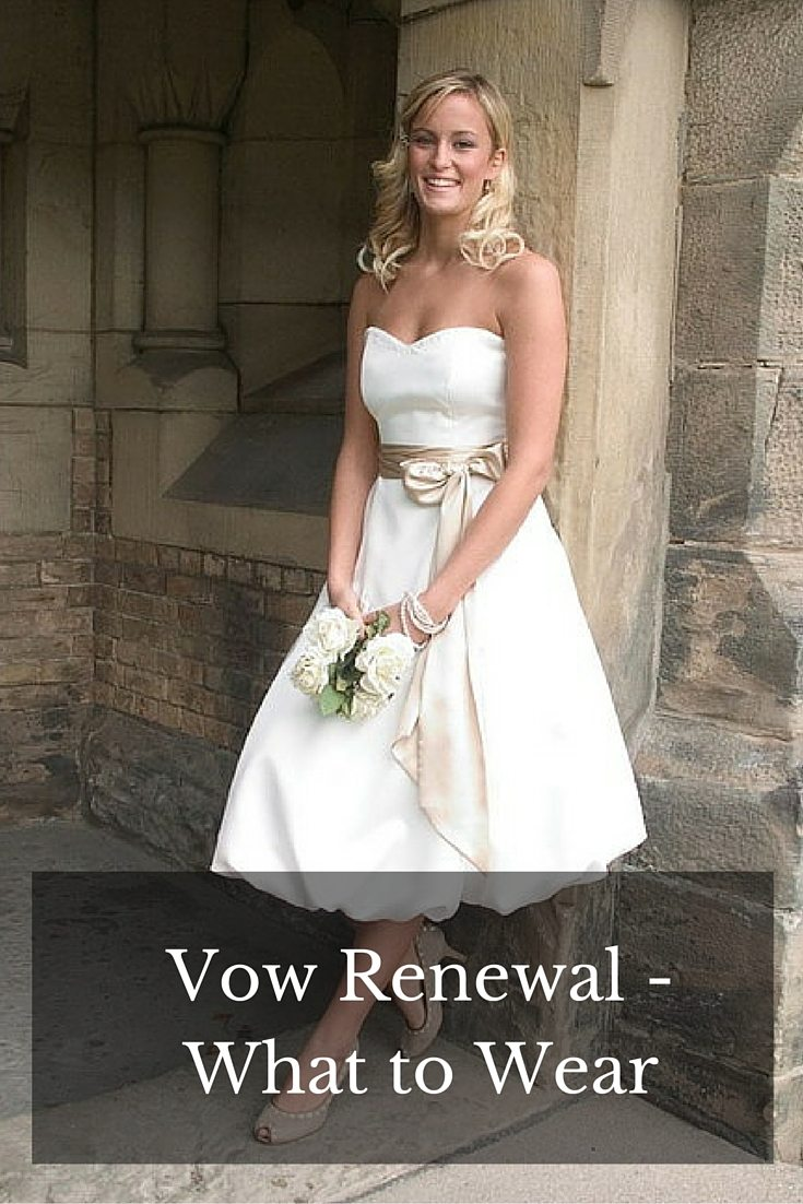 what to weat vow renewal