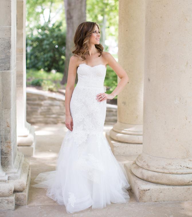 Monique Lhuillier Sonnet Wedding Dress