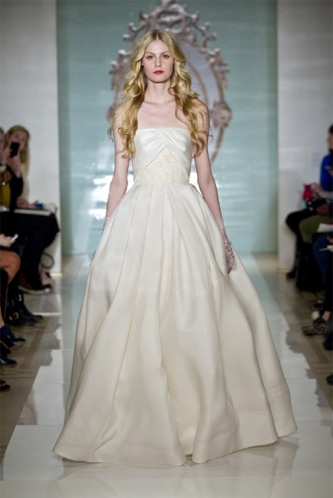 Reem Acra Divine Girl wedding dress
