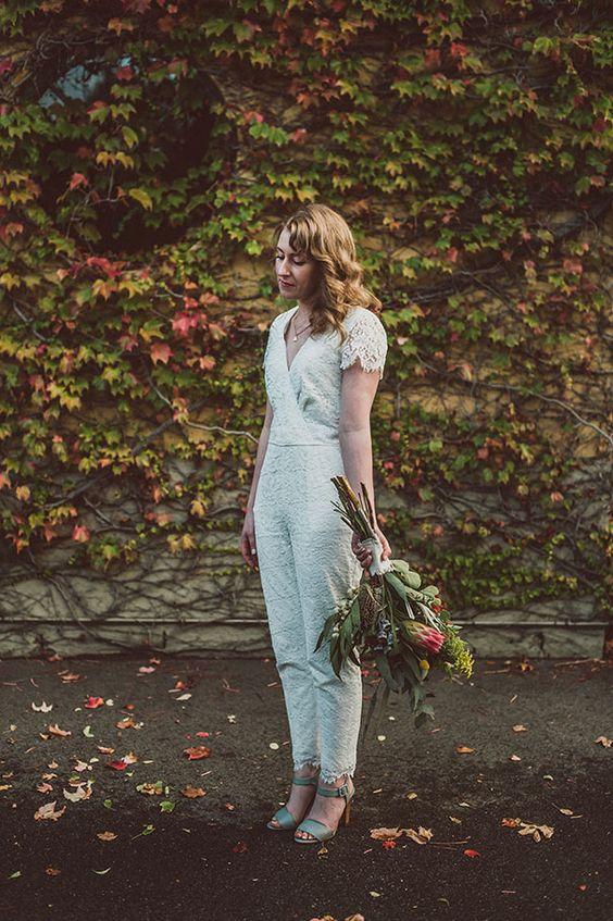 lace wedding jumpsuit