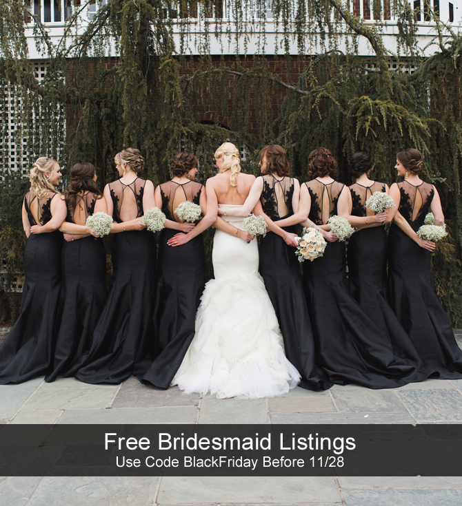 Free Bridesmaid Dress Listings