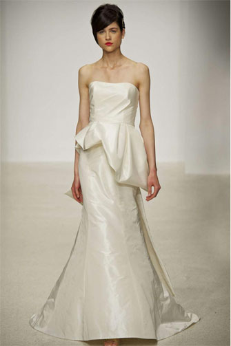 Amsale Kensington wedding dress