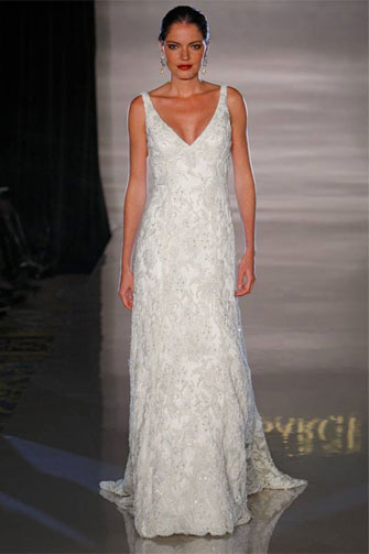 Anne Barge wedding dress