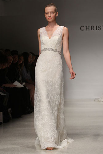 Christos Irini wedding dress
