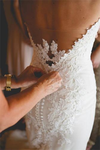 Ines Di Santo Elisavet wedding dress