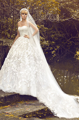 Jorge Manuel Wisteria wedding dress