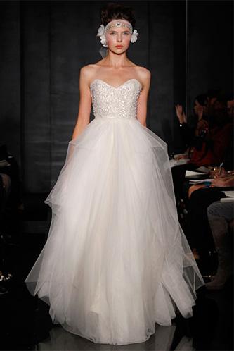 Reem Acra Eternity wedding dress