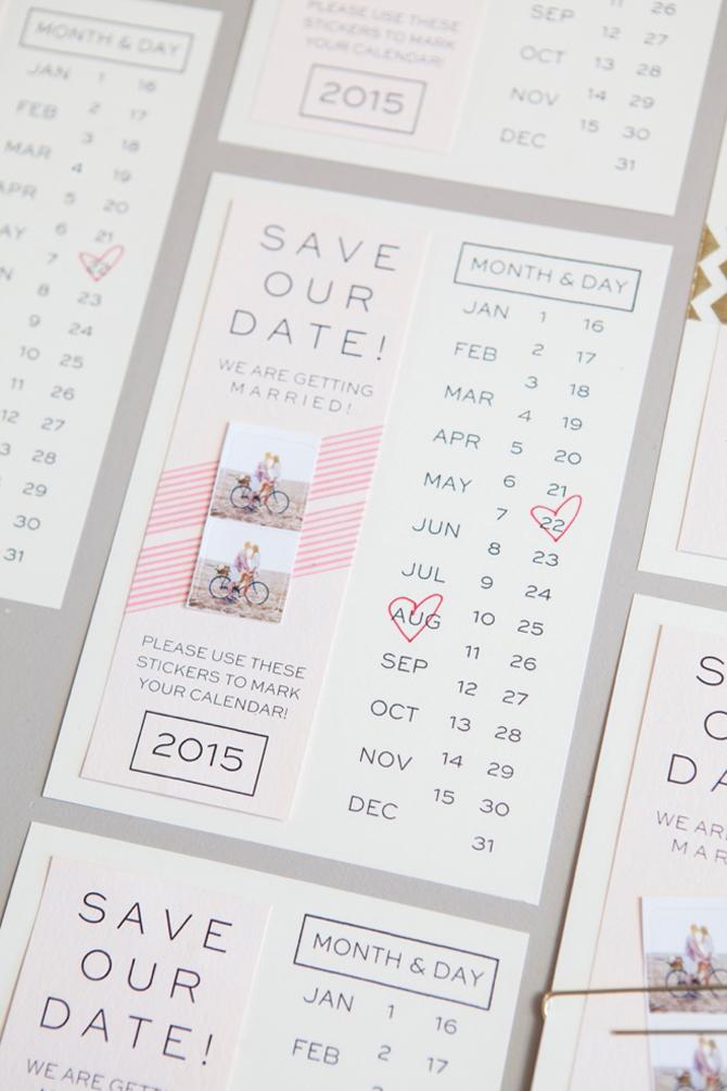 Fun Save the Dates | PreOwnedWeddingDresses.com