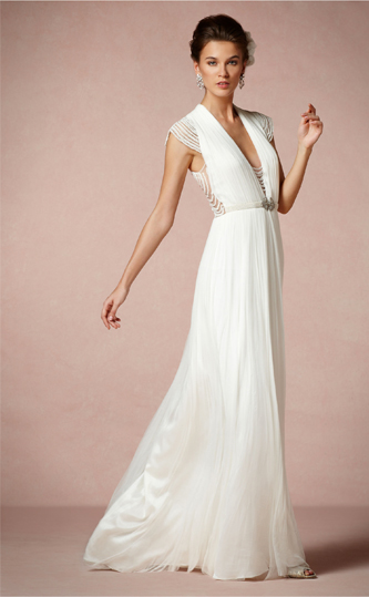 BHLDN Ortensia wedding dress