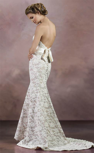 LianCarlo 4840 wedding dress