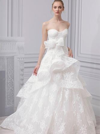 Monique Lhuillier Belle wedding dress