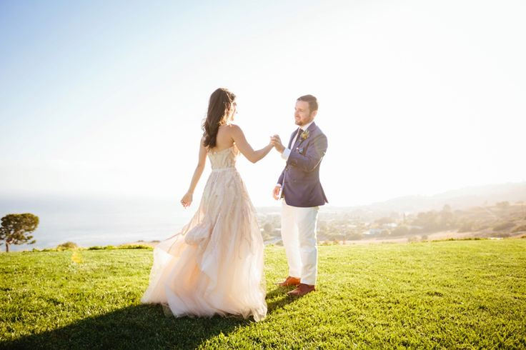 Monique Lhuillier Candy | Real Weddings