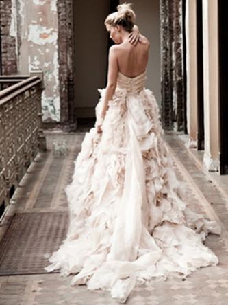 Monique Lhuillier Waltz wedding dress