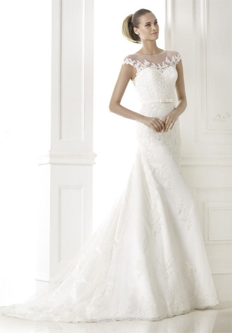 Pronovias Botica wedding dress