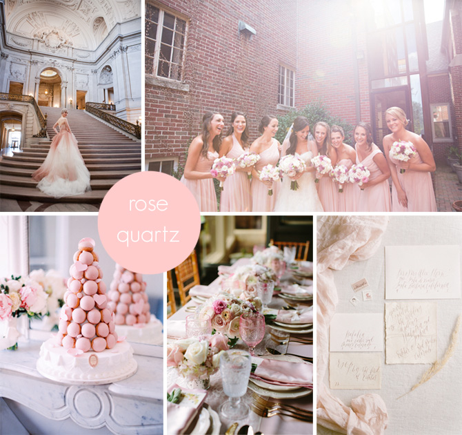 2016's Hottest Wedding Colors | PreOwnedWeddingDresses.com
