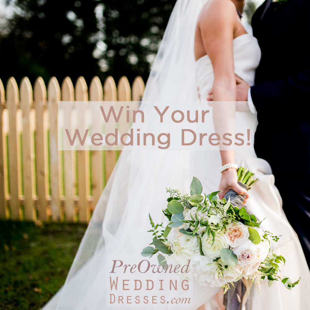 Have You Entered To Win Your Wedding Dress Yet?