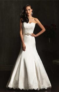 Allure 9059 wedding dress