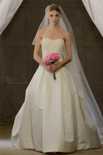 Carolina Herrera ingrid wedding dress