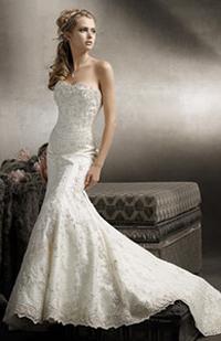 Lazaro 3750 wedding dress