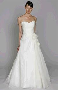 Monique Lhuillier BL1102 wedding dress
