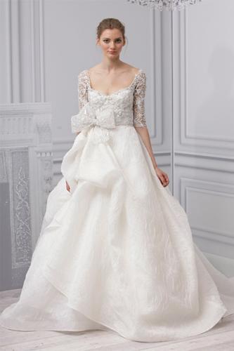 Monique Lhuillier Royalty wedding dress