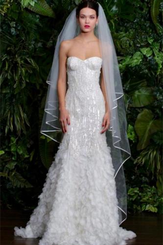 Naeem Khan Savannah wedding dress