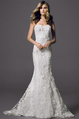 Oleg Cassini Cwg464 wedding dress