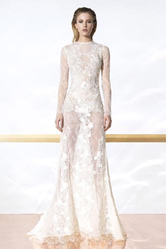 YolanCris | Naked Wedding Dresses