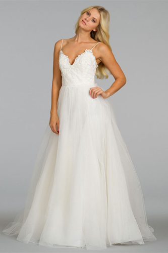 Spaghetti straps wedding dress trends preowned wedding for Wedding dress spaghetti strap