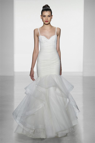 Amsale Sawyer wedding dress