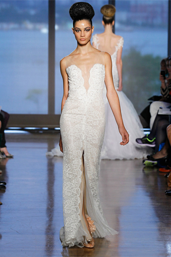 ines di santo maia wedding dress