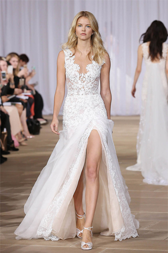 ines di santo morning wedding dress
