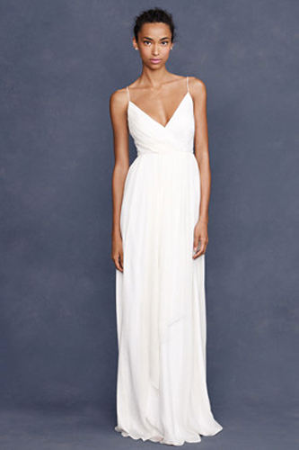 J Crew Angelique Wedding dress