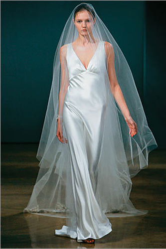 Monique Lhuillier Kelis wedding dress