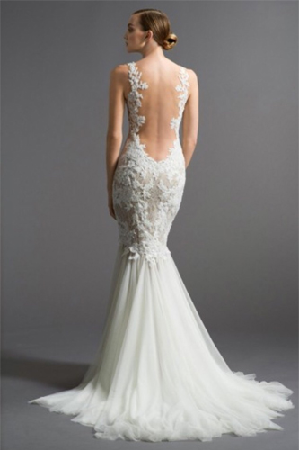 Watters Cinzia wedding dress