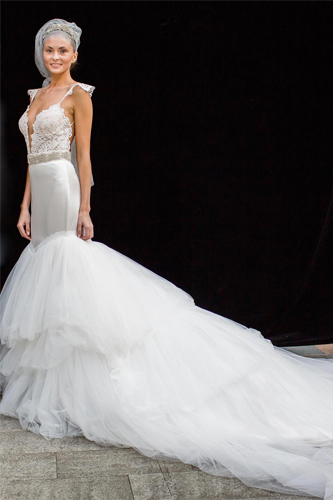 zahavit tshuba megan wedding dress