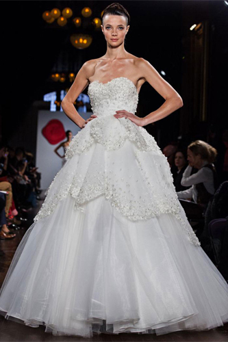 Austin Scarlet Water Lily wedding dress