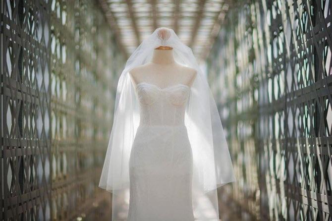 Monique Lhuillier Real Wedding D Image Plus