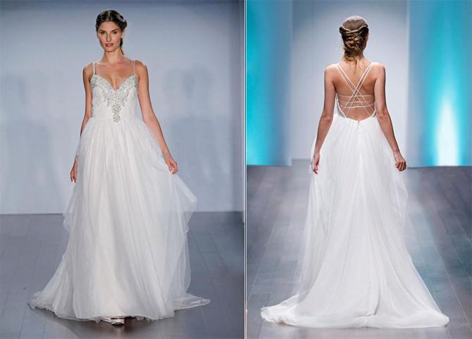 Alvina Valenta 9508 wedding dress for sale