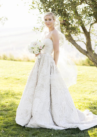 amsale dahlia wedding dress for sale