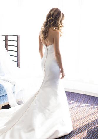Matthew Christopher Vivian wedding dress for sale