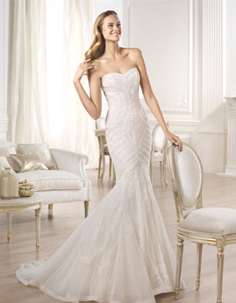Pronovias Ombera wedding dress for sale