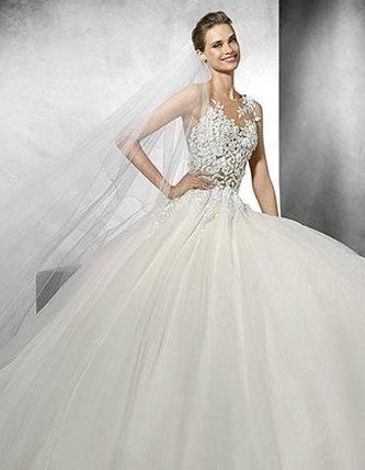 Pronovias Taciana wedding dress