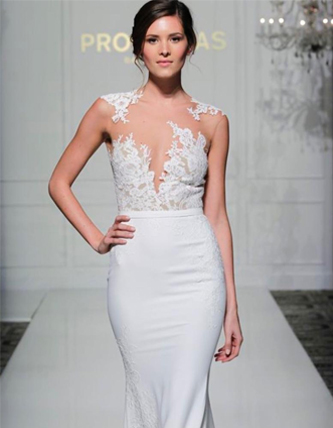 Pronovias Vinceta wedding dress for sale