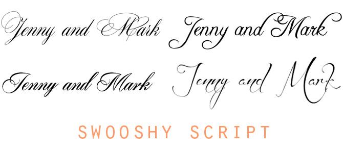 Prettiest Free Wedding Fonts | PreOwnedWeddingDresses.com