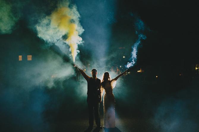 Stunning Wedding Exits | PreOwnedWeddingDresses.com