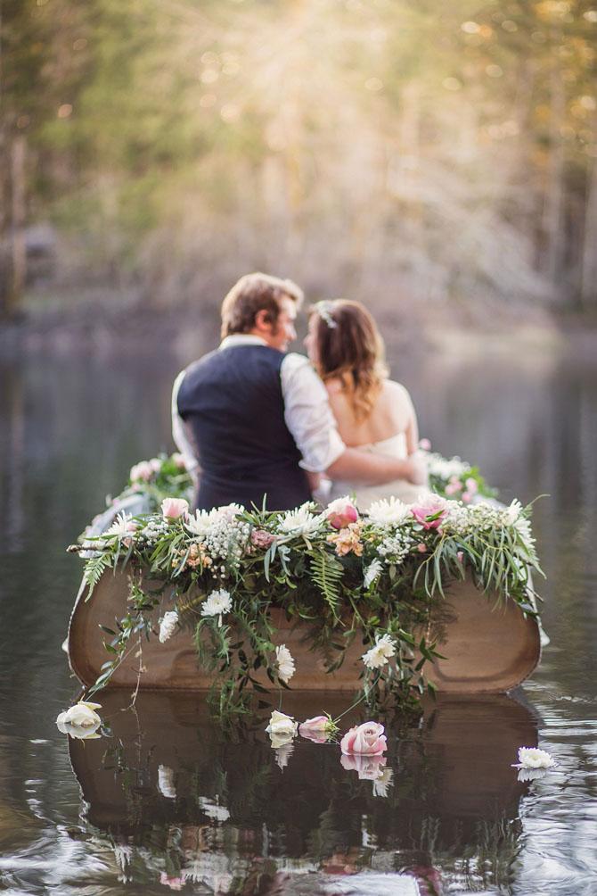 Stunning Wedding Exits   PreOwnedWeddingDresses.com