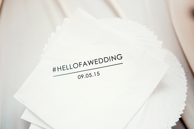 The Cutest Wedding Napkins You've Ever Seen | PreOwnedWeddingDresses.com
